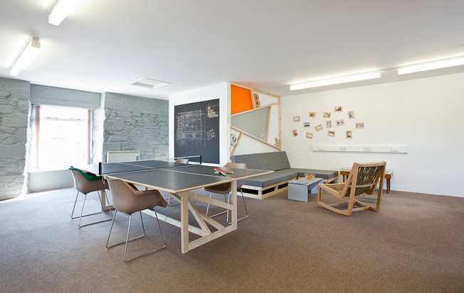 New office with ping pong table Boex