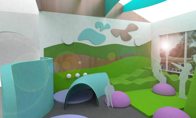 Environments for autistic children, childrens healthcare enviroment