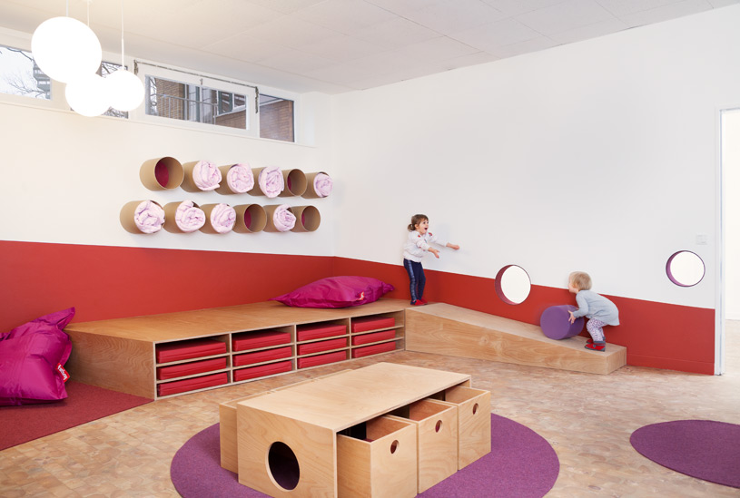 very clever and simple design for a children s nursery in berlin