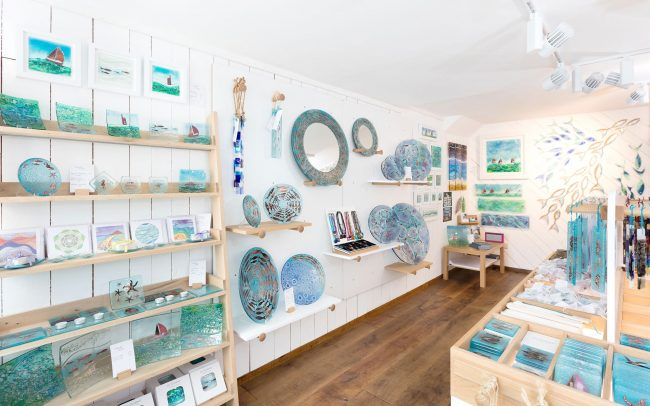 Nautical interior design for Jo Down's store