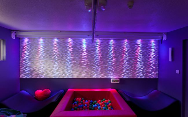 Soft sensory play space for Cornwall Partnership Trust