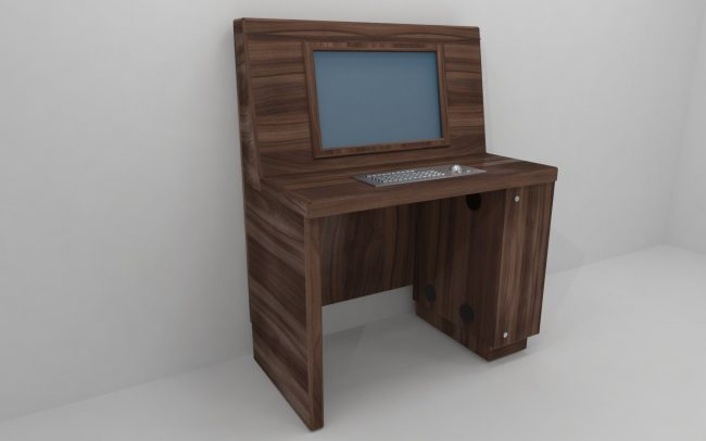 Computer unit designed by Boex specifically for the healthcare sector