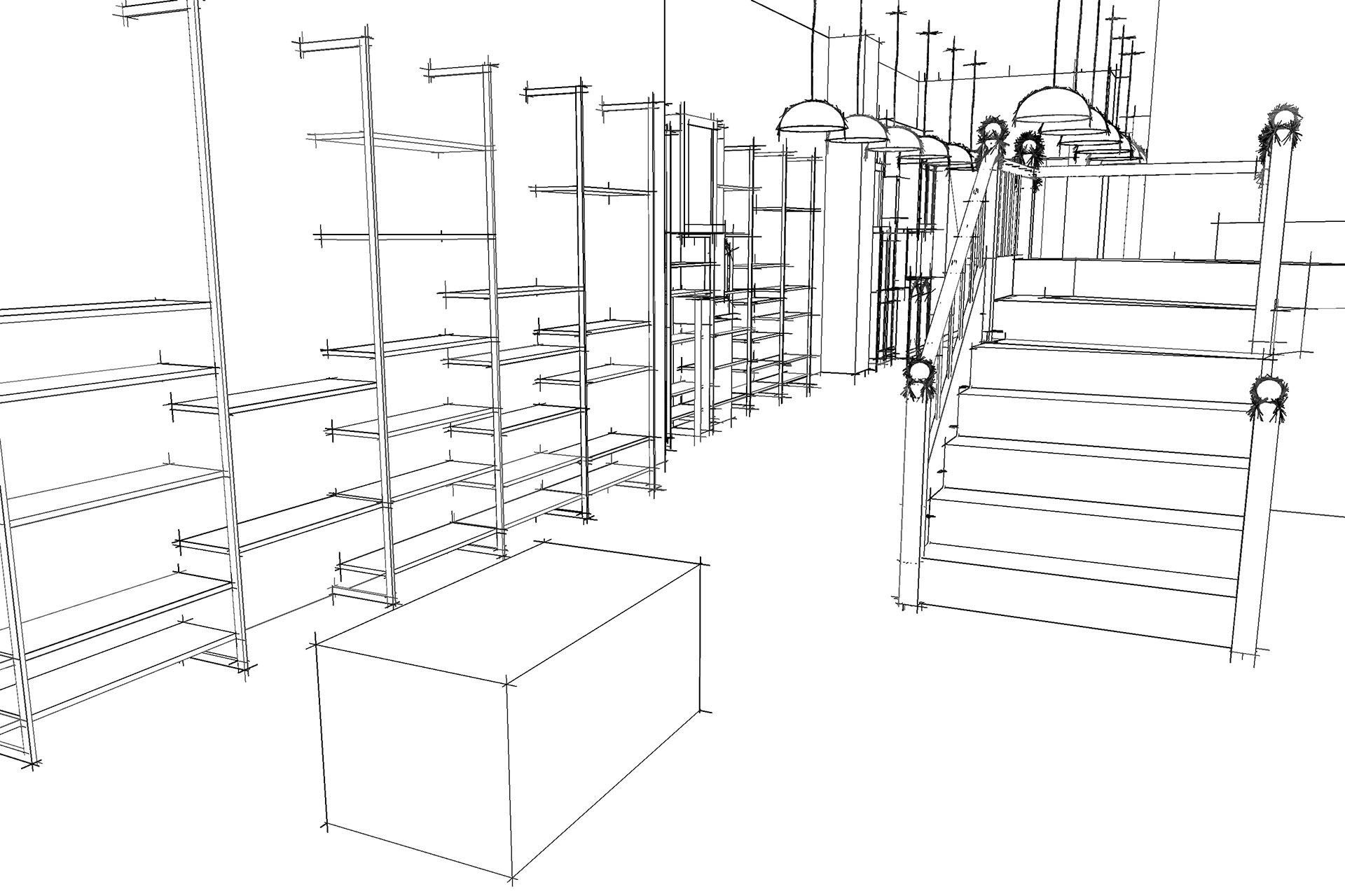 3D visualisations for retail design at Uneeka Truro