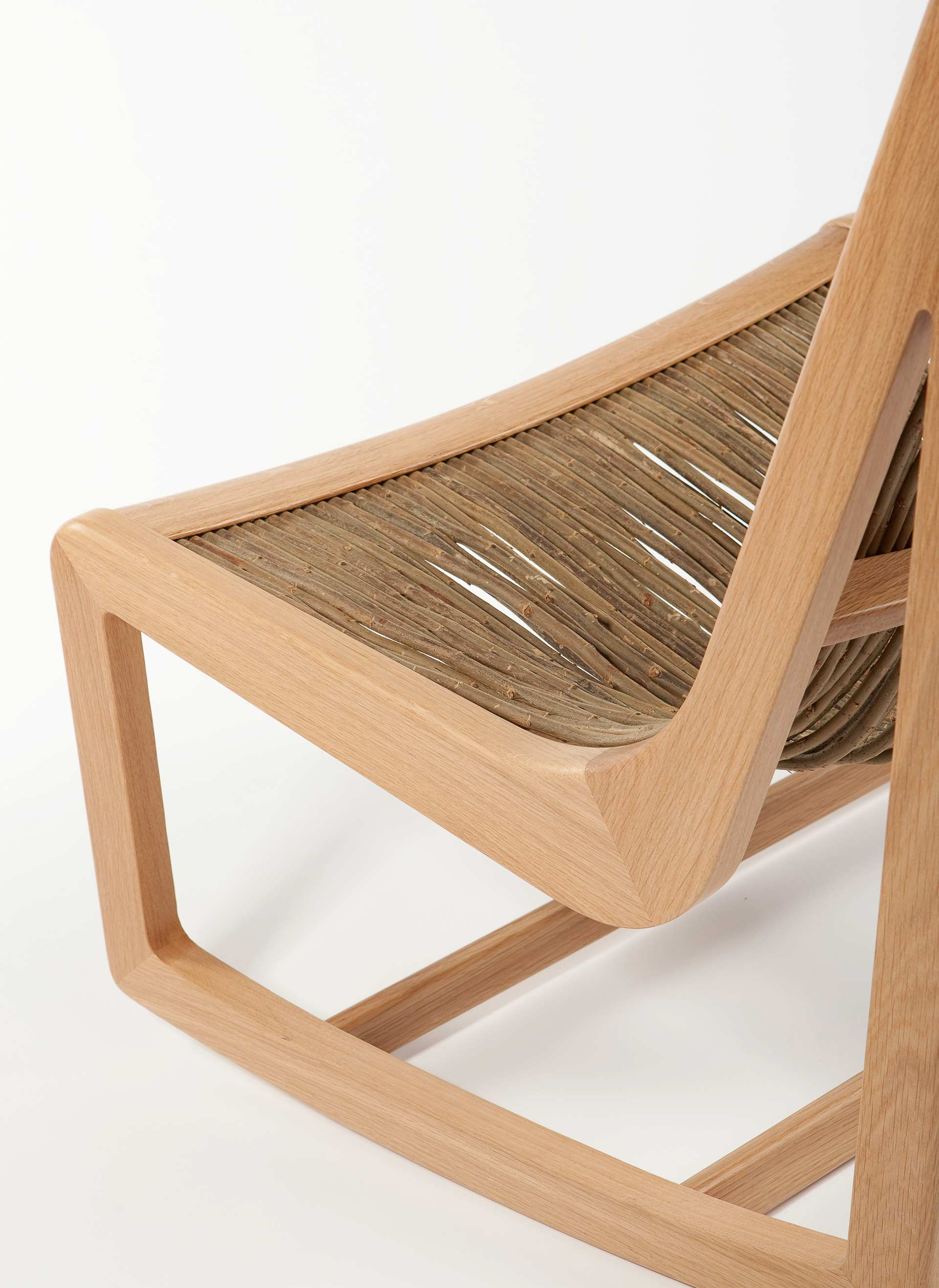 Willow chair detail made by Boex