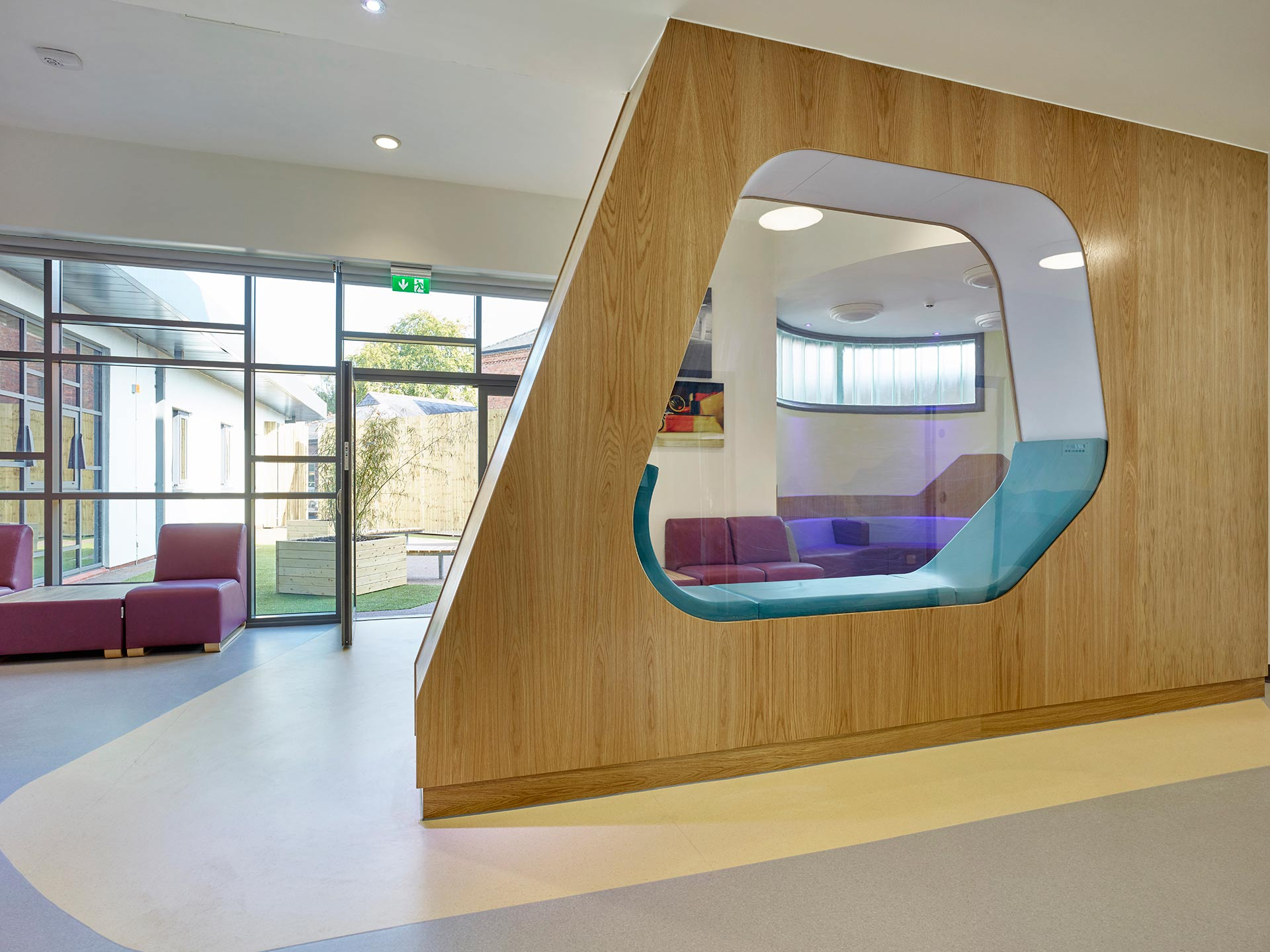 Anti ligature furniture to ensure the safety of patients staying at Ancora House