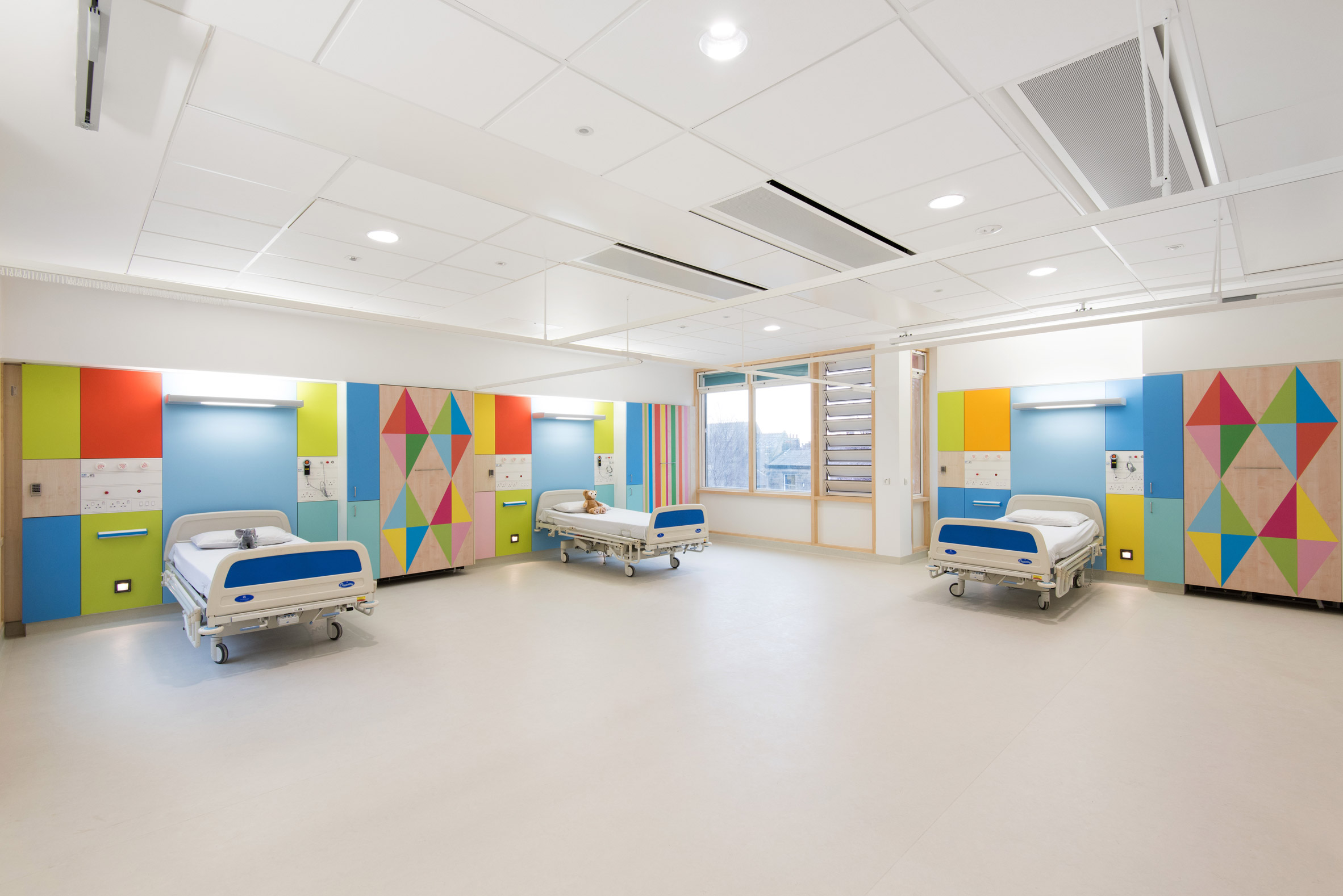 Bright Colours And Bold Prints For Children S Ward Boex