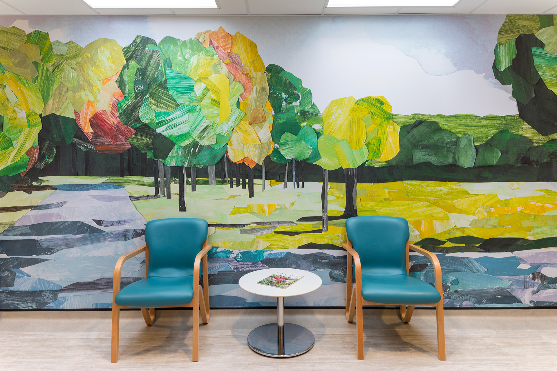 healthcare waiting room interior